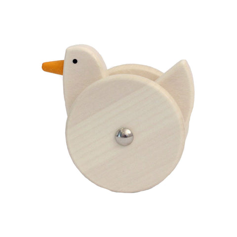 Wooden Wobbling Chicken - Natural