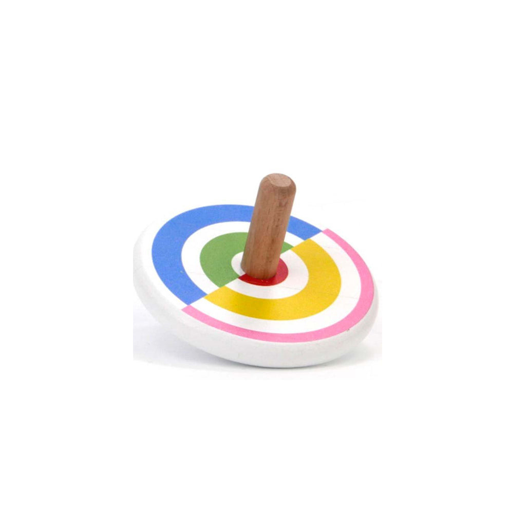 Bajo - Wooden Semi-Circles Spin Top - Made in Poland | Mapamundi Kids