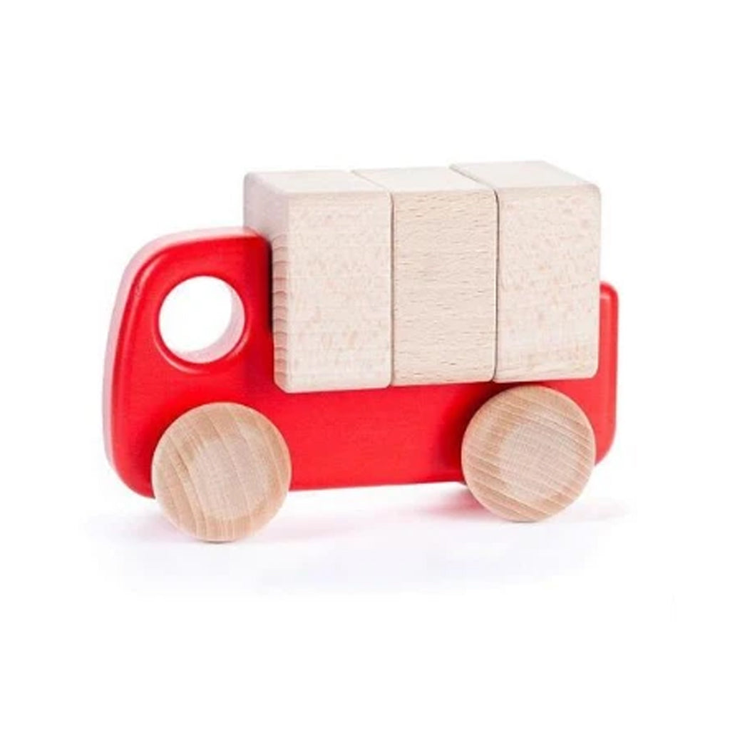 Bajo - Wooden Truck with Blocks - Made in Poland | Mapamundi Kids
