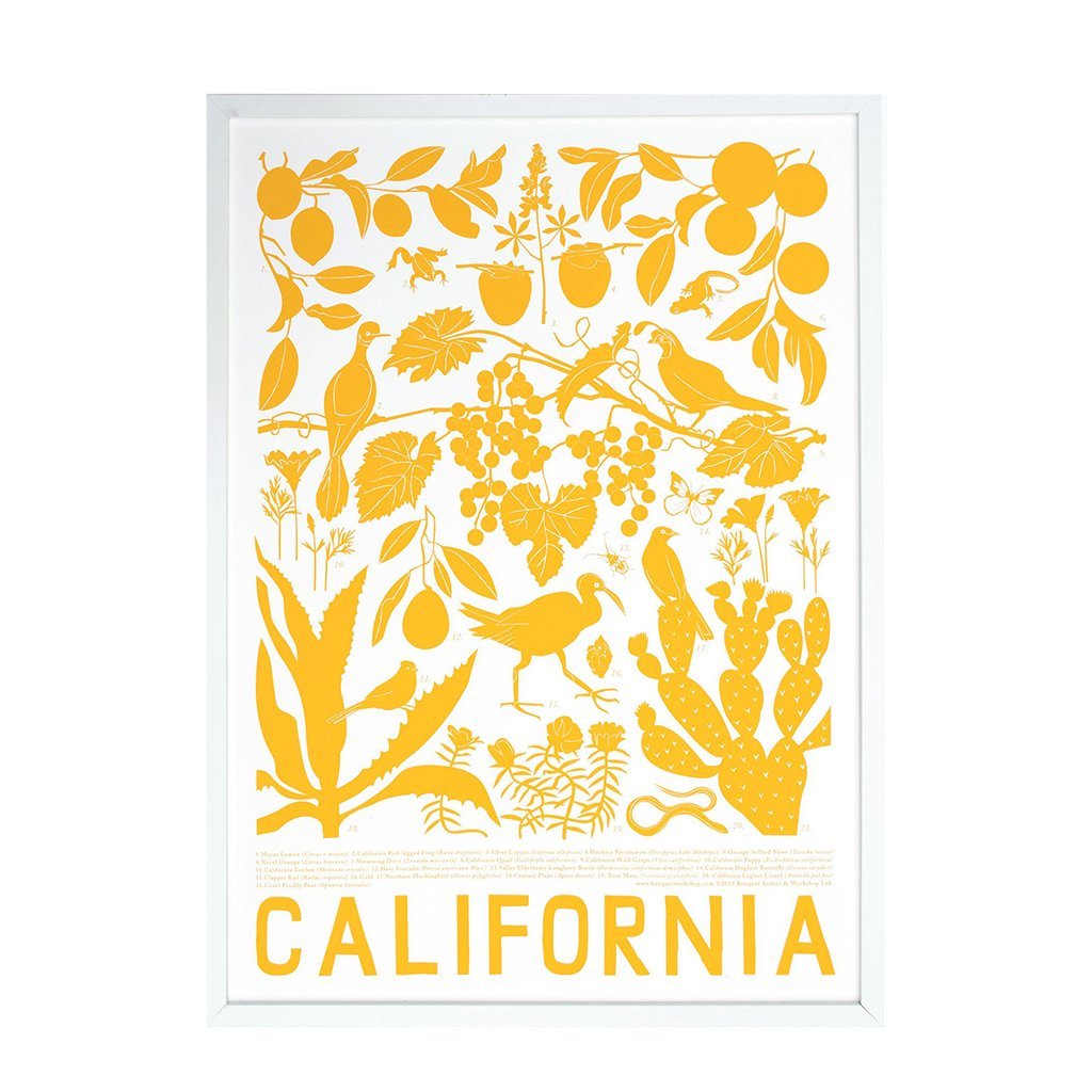 Banquet - California Print - Designed and Printed in Canada