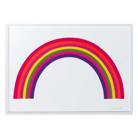 Banquet - Neon Rainbow Print - Designed and Printed in Canada
