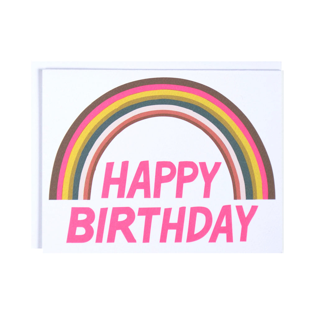 Banquet Canada - Rainbow Happy Birthday Card | Mapamundi Kids