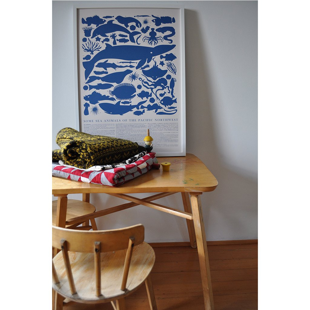 Banquet - Blue Sea Animals of the Pacific Northwest - Designed and Made in Canada