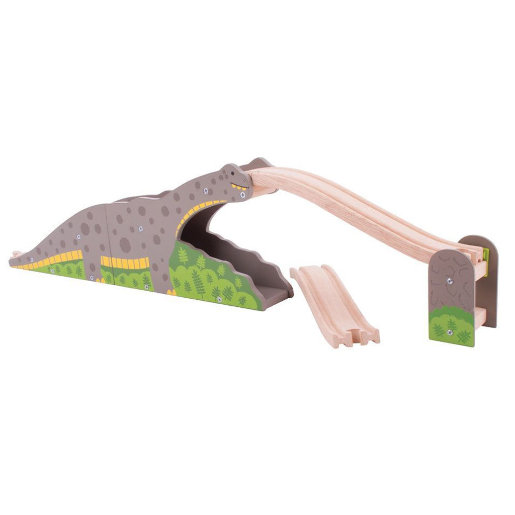 Bigjigs - Wooden Bronto Riser Train Add-On | Mapamundi Kids