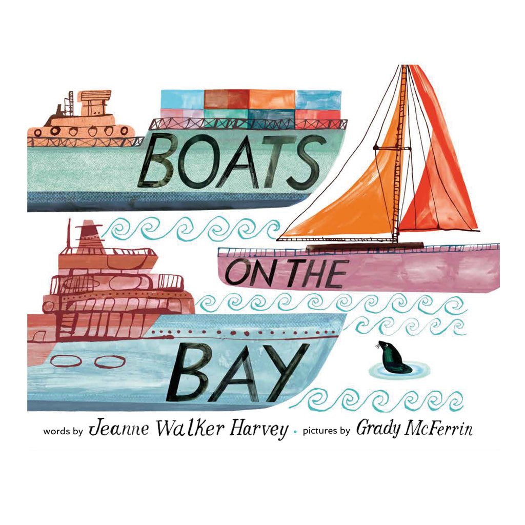 Boats on the Bay by Jeanne Walker Harvey | Cameron & Co Publishing