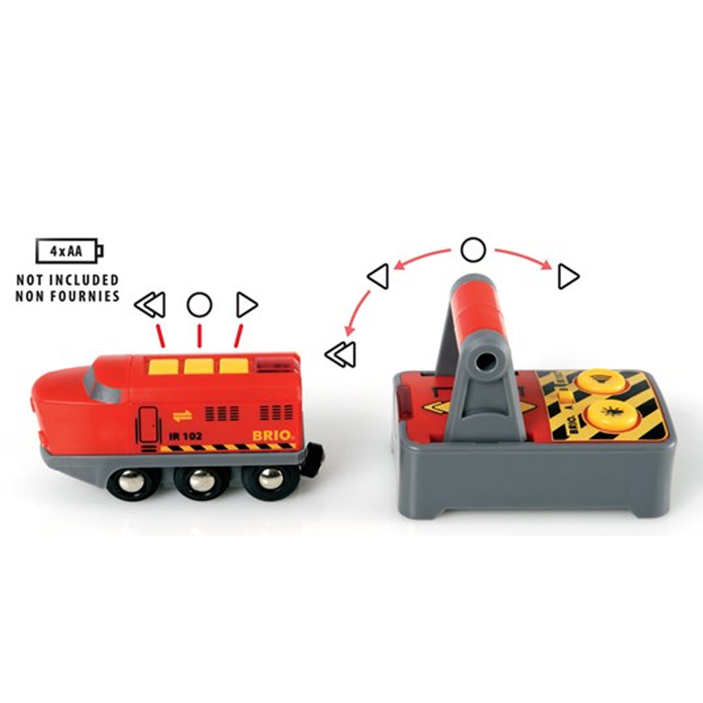 BRIO - Battery Operated Remote Control Engine