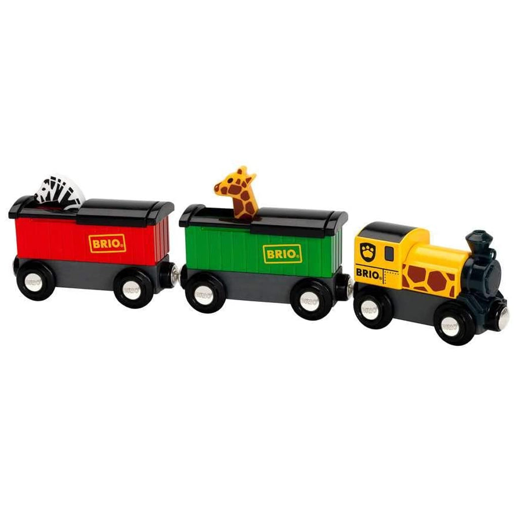 BRIO - Safari Train Set 33722 | Mapamundi Kids