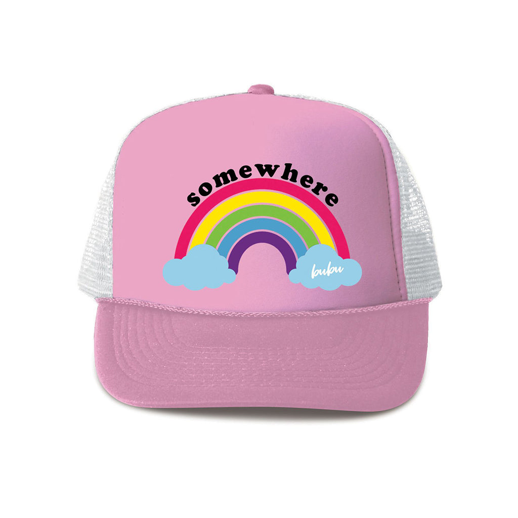 Bubu Los Angeles - Somewhere Over the Rainbow Trucker Hat - Made in USA