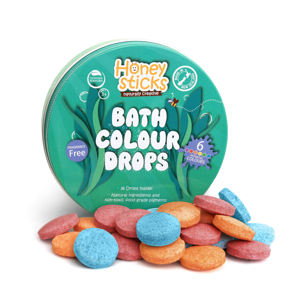 Honeysticks Natural Bath Water Drops - Made in New Zealand | Mapamundi Kids