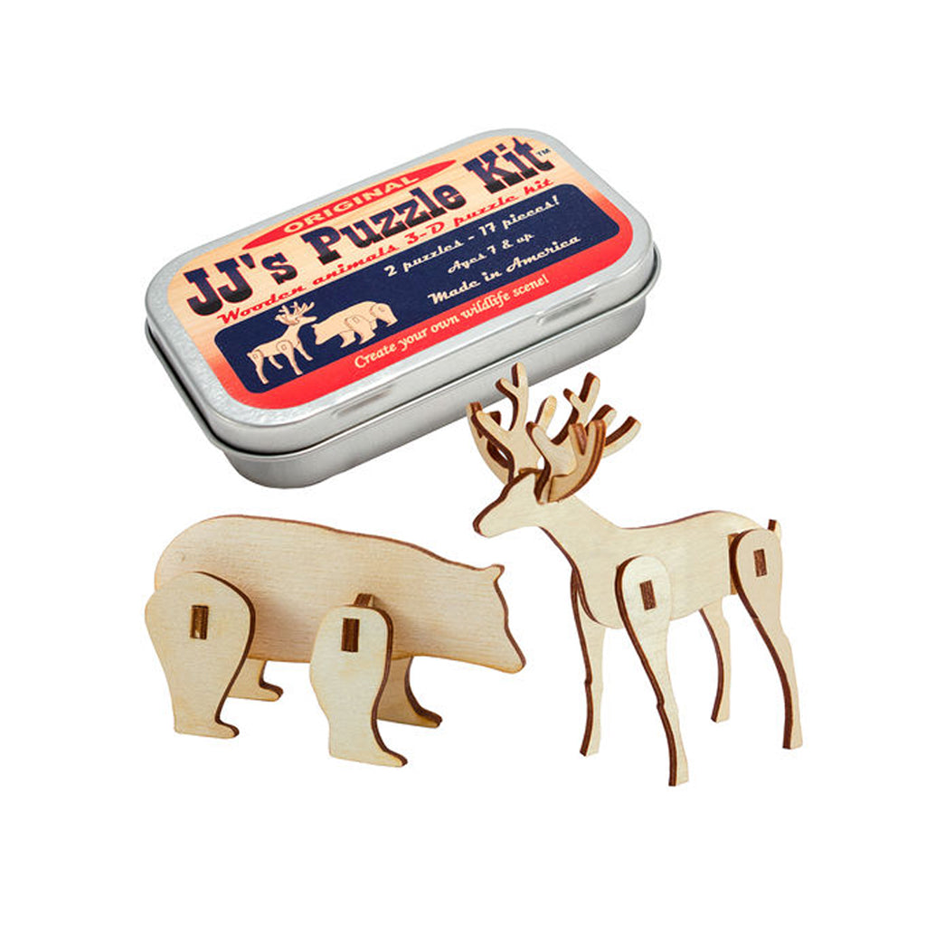 Channel Craft - JJ's Animal Wood Kit - Made in the USA