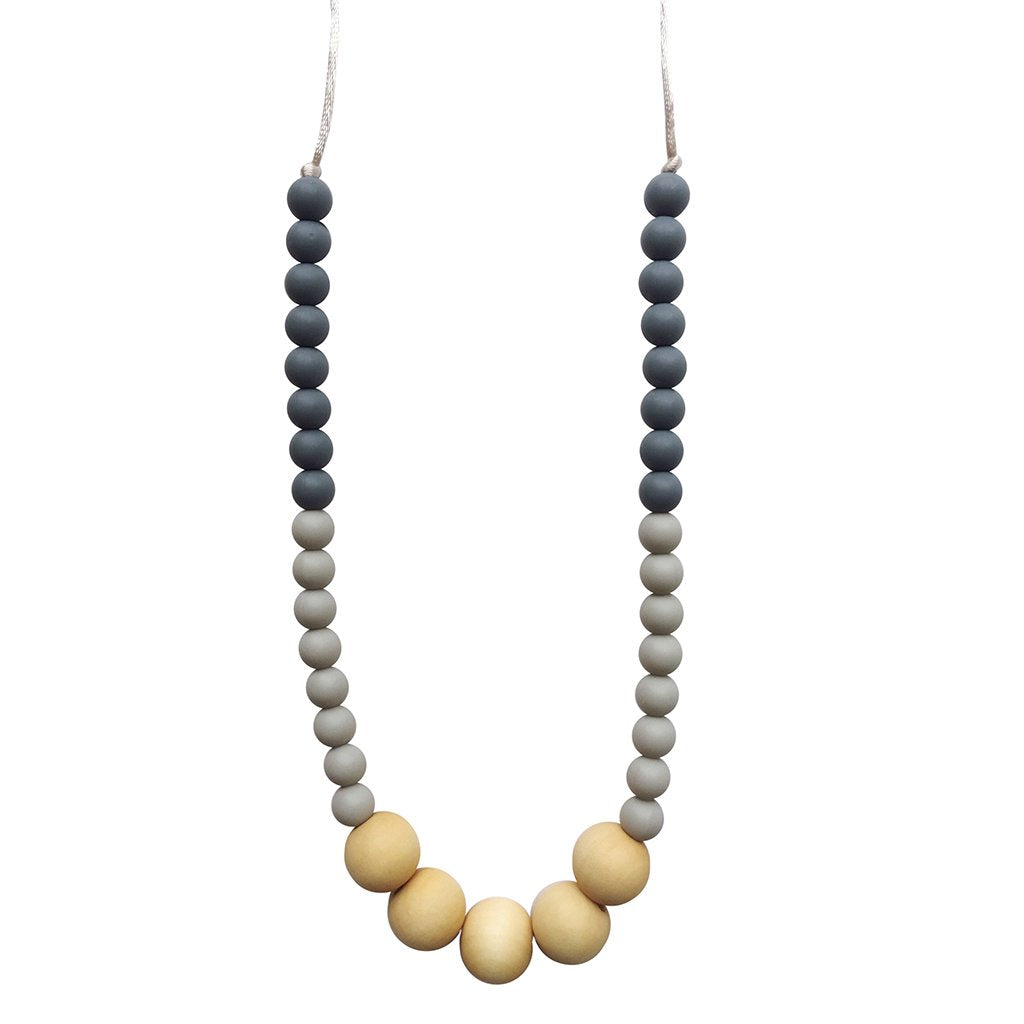Chewable Charm - The Danny Teething Necklace - Made in the USA