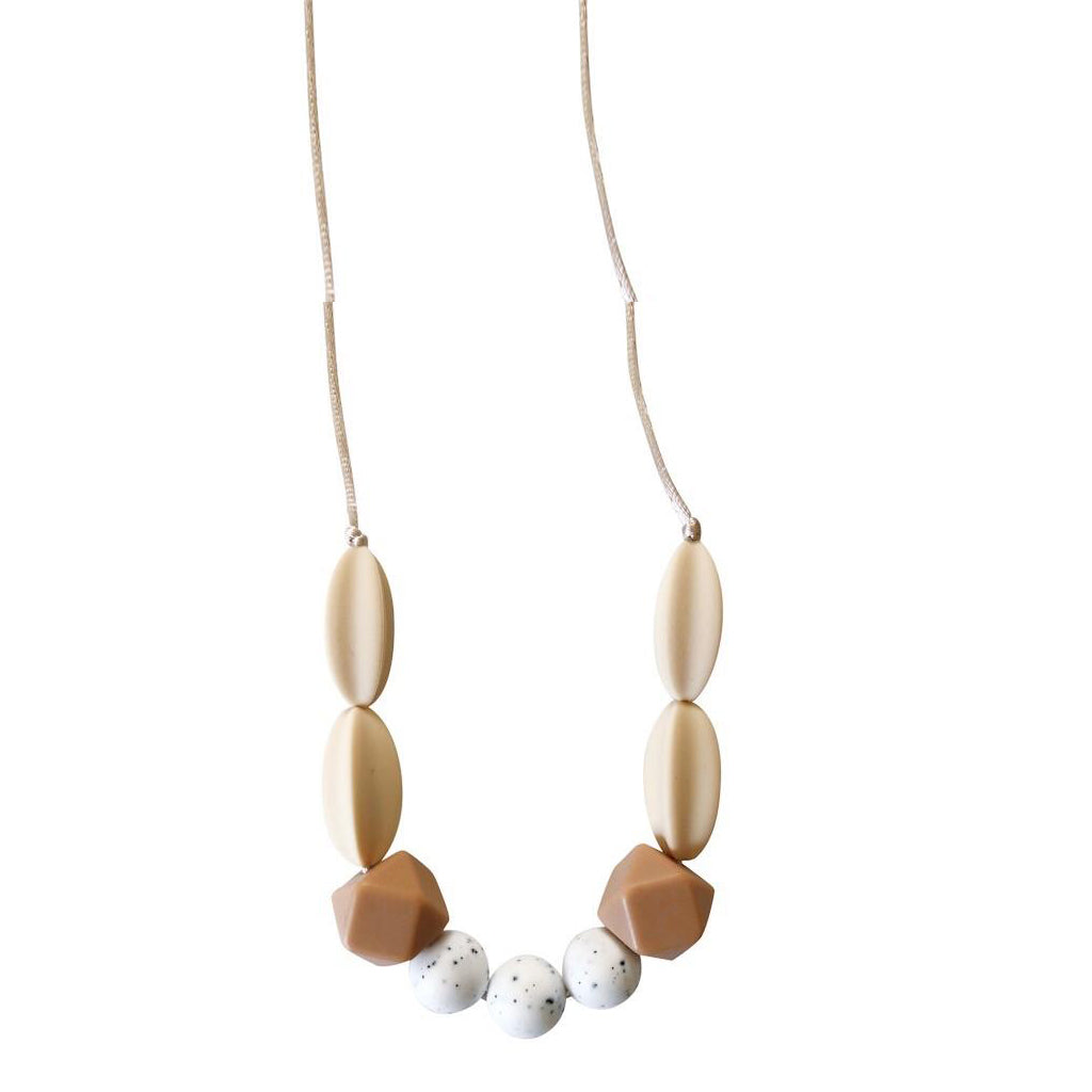 Chewable Charm - The Sienna Moonstone Teething Necklace - Made in the USA