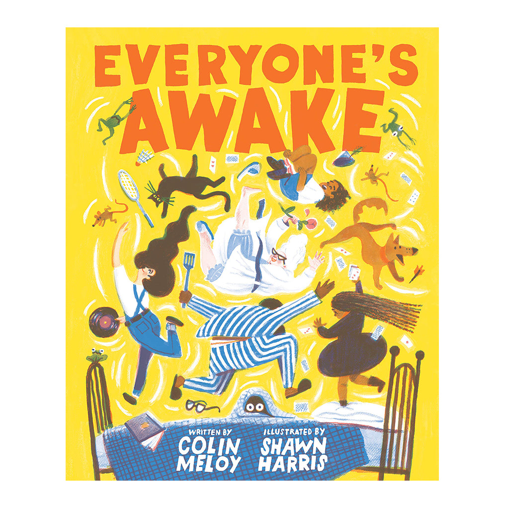 Everyone's Awake by Colin Meloy | Mapamundi Kids