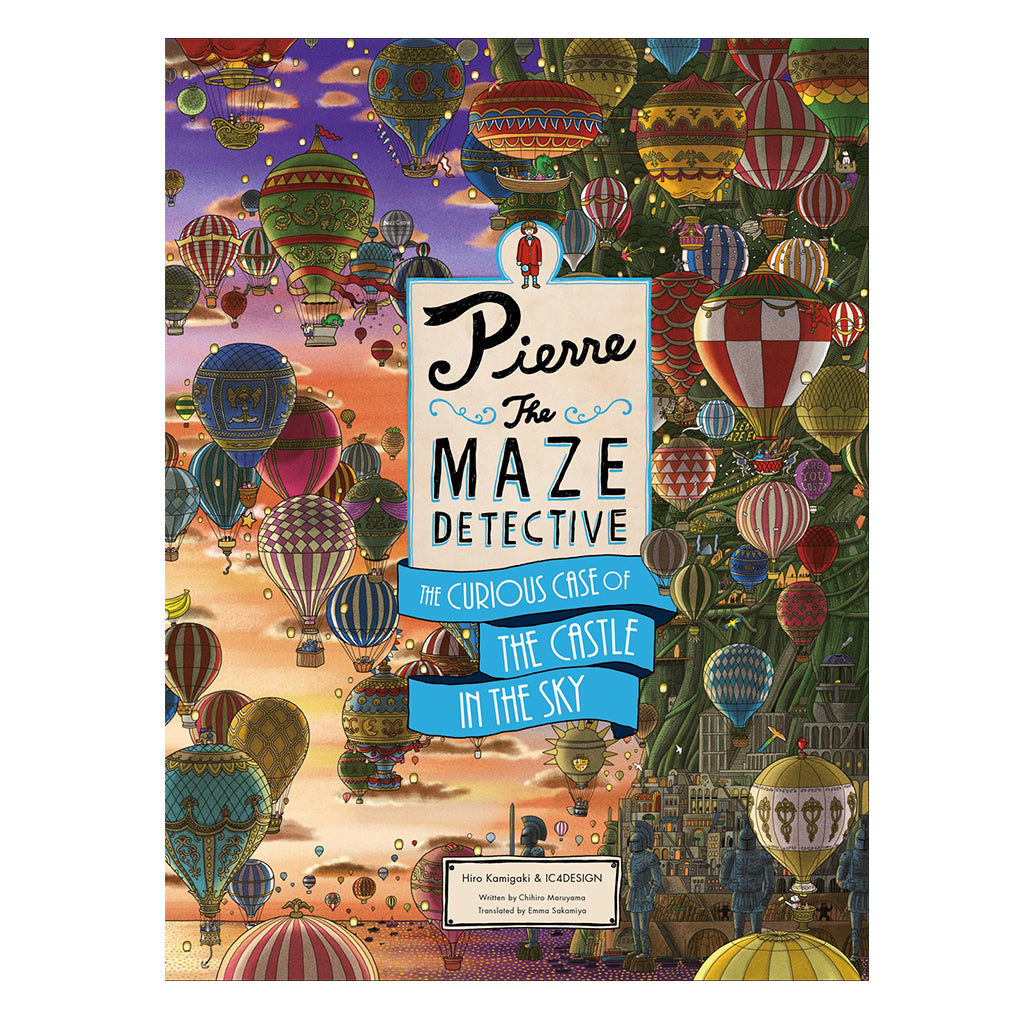 Pierre the Maze Detective: The Curious Case of the Castle in the Sky | Mapamundi Kids