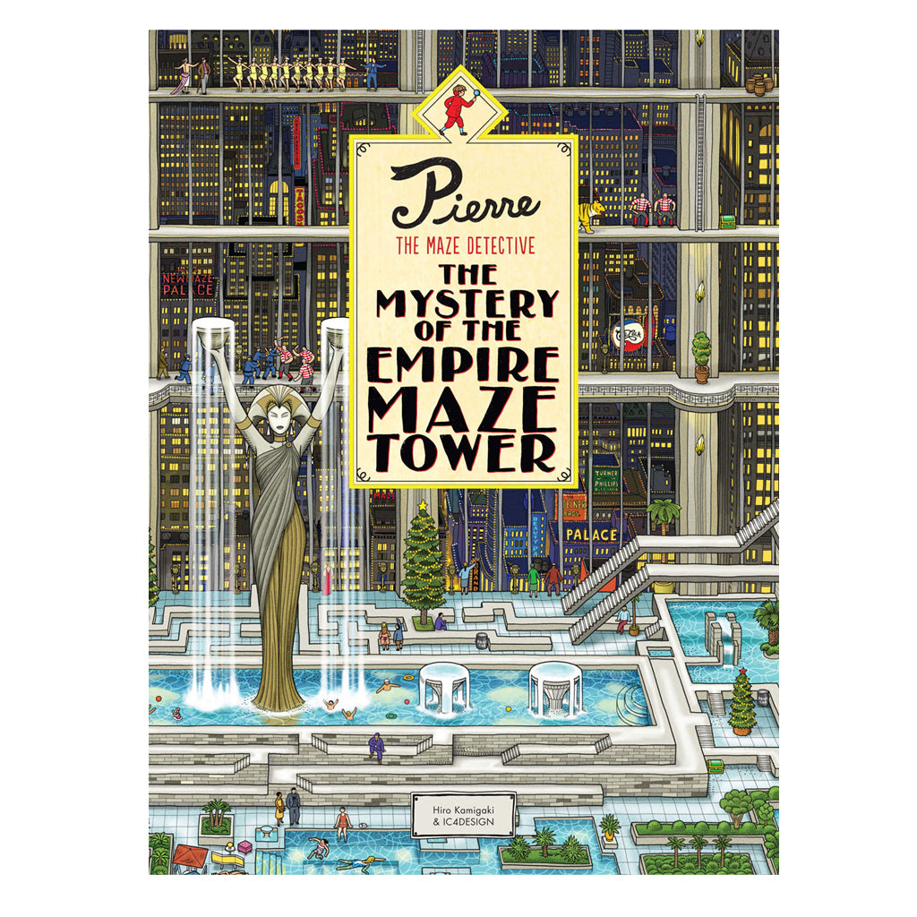 Pierre the Maze Detective: the Mystery of the Empire Maze Tower | Mapamundi Kids