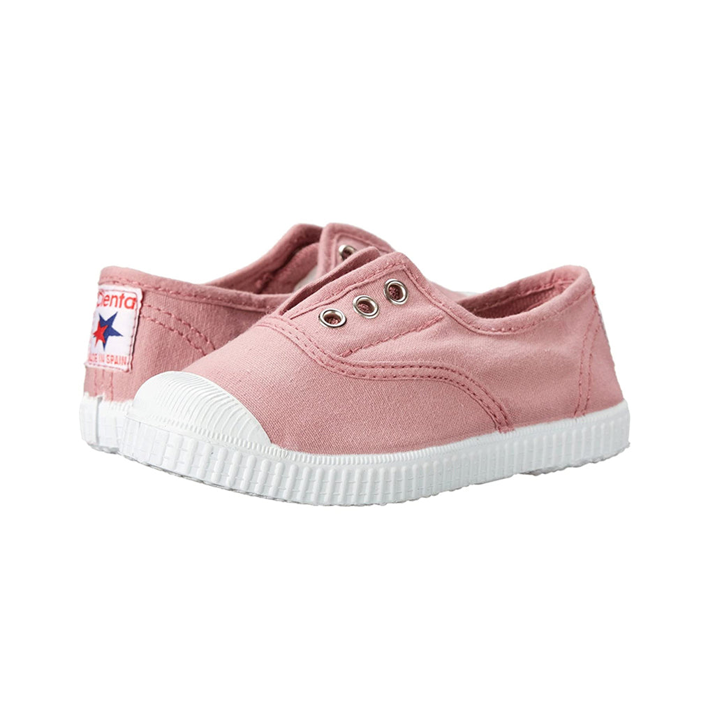 Cienta Shoes - Rose Slip-Ons - Made in Spain | Mapamundi Kids