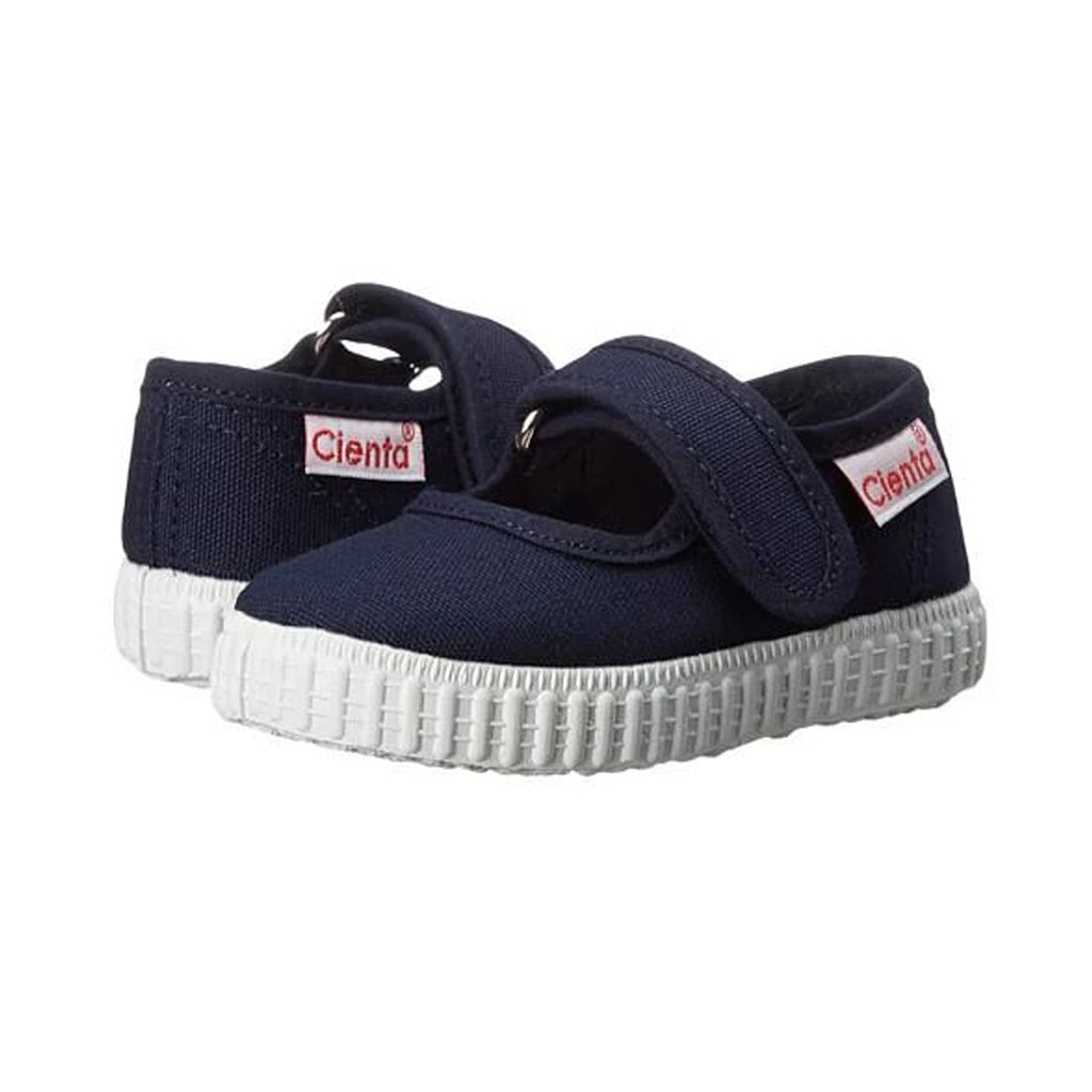 Cienta Shoes - Mary Jane - Navy Blue - Made in Spain | Mapamundi Kids