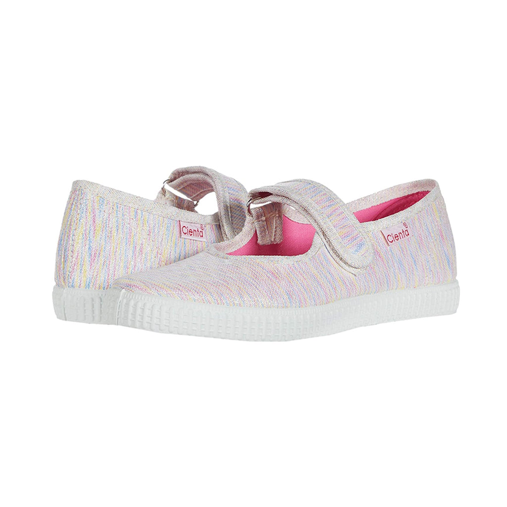 Cienta Shoes - Mary Jane - Rainbow Sparkle - Made in Spain | Mapamundi Kids
