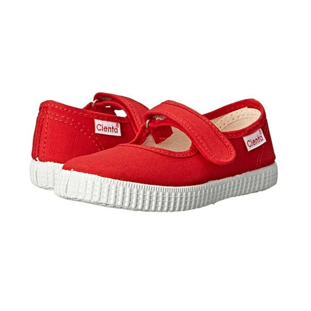 Cienta Shoes - Mary Jane - Red - Made in Spain | Mapamundi Kids