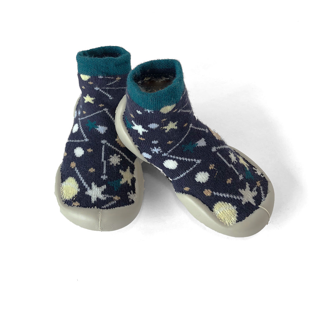 Collegien - Slipper Socks - Constellation Glow in the Dark | Mapamundi Kids