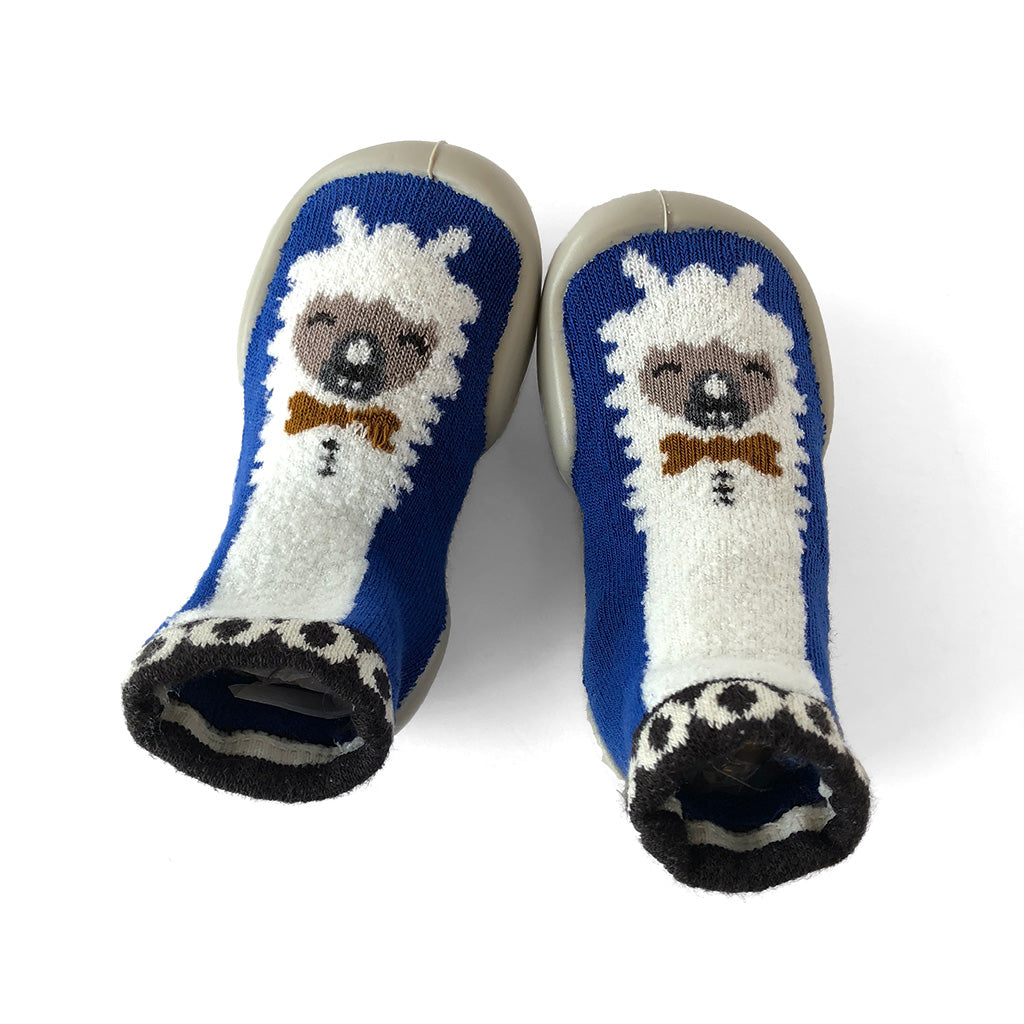 Collegien - Slipper Socks - Llama - Made in France | Mapamundi Kids