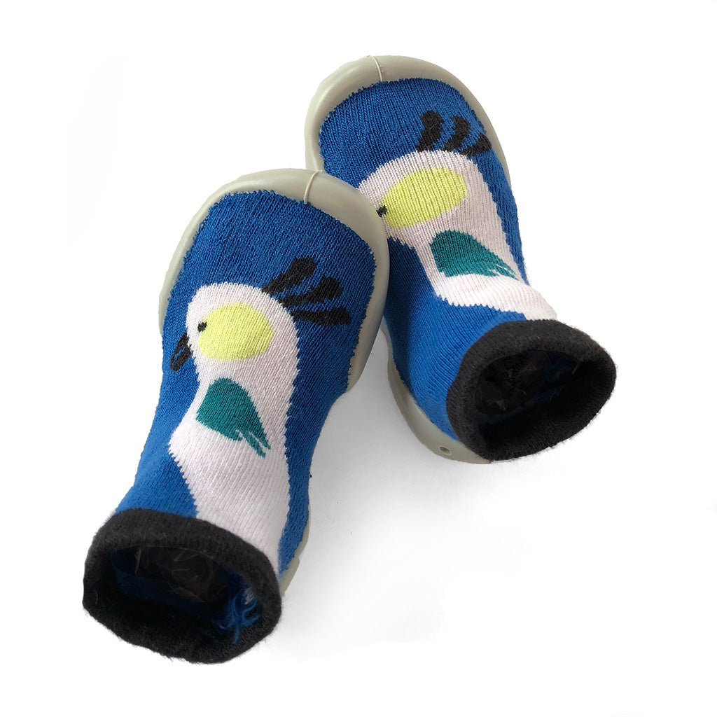 Collegien - Slipper Socks - Parrot - Made in France | Mapamundi Kids
