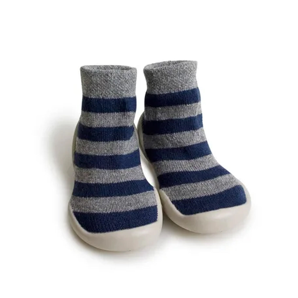 Collégien France - Slipper Socks - Cashmere Mountain Stripe | Mapamundi Kids