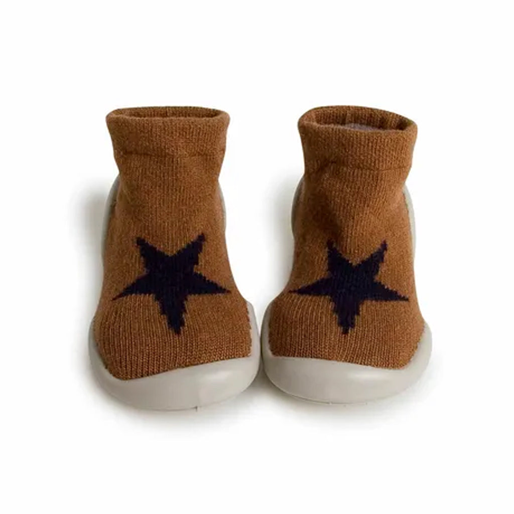 Collégien - Cashmere Slipper Socks - Hot Chocolate Star | Mapamundi Kids