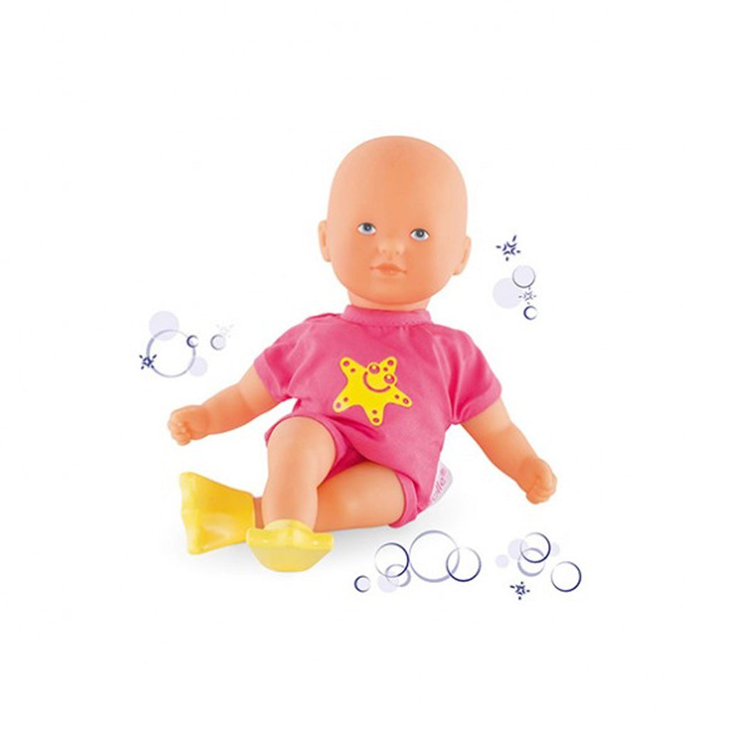 Corolle Dolls - Mini Bath Doll in Pink - Designed in France