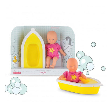 Corolle Dolls - Mini Bath - By The Sea - Designed in France