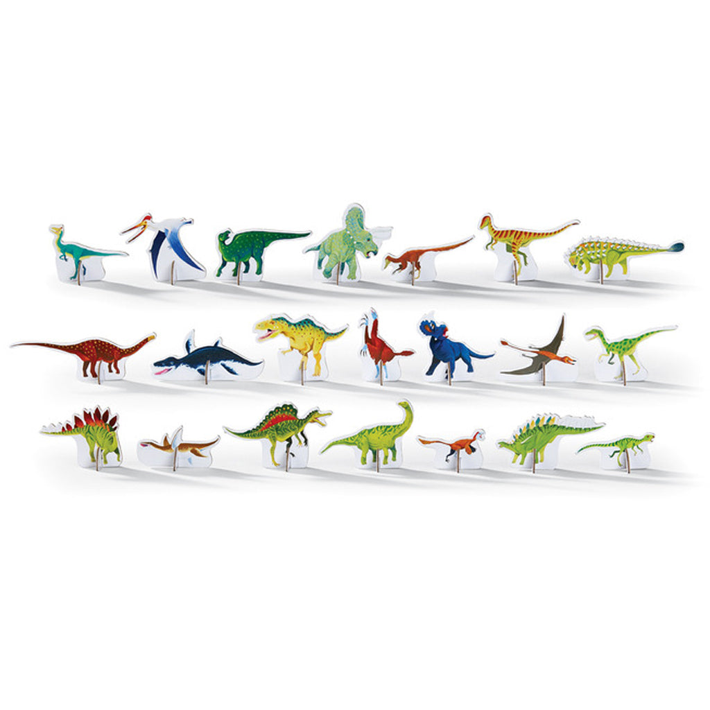Crocodile Creek - 100 Pc Discover Dinosaur Play Puzzle