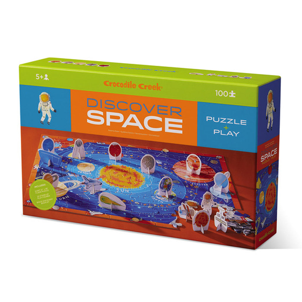 Crocodile Creek - 100 Pc Discover Space Play Puzzle