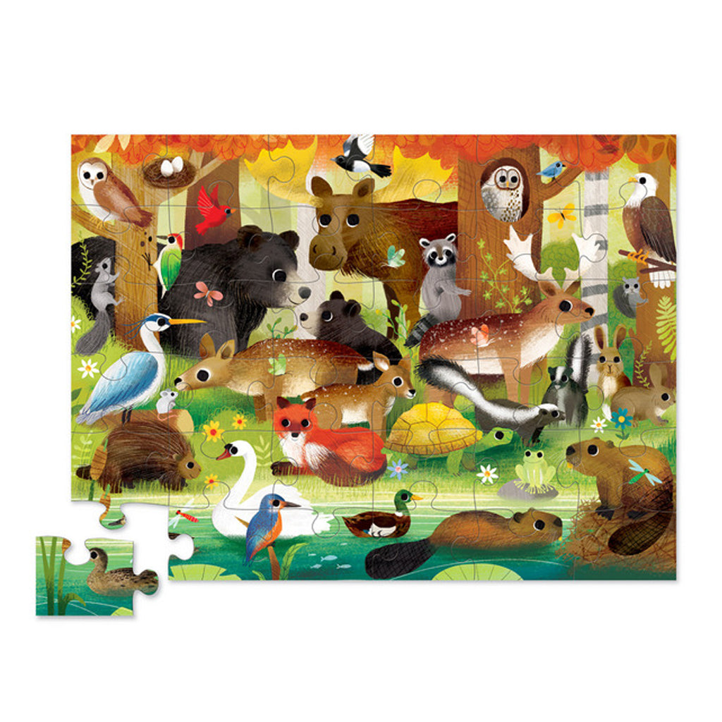 Crocodile Creek - 36 Pc Puzzle - Forest Friends