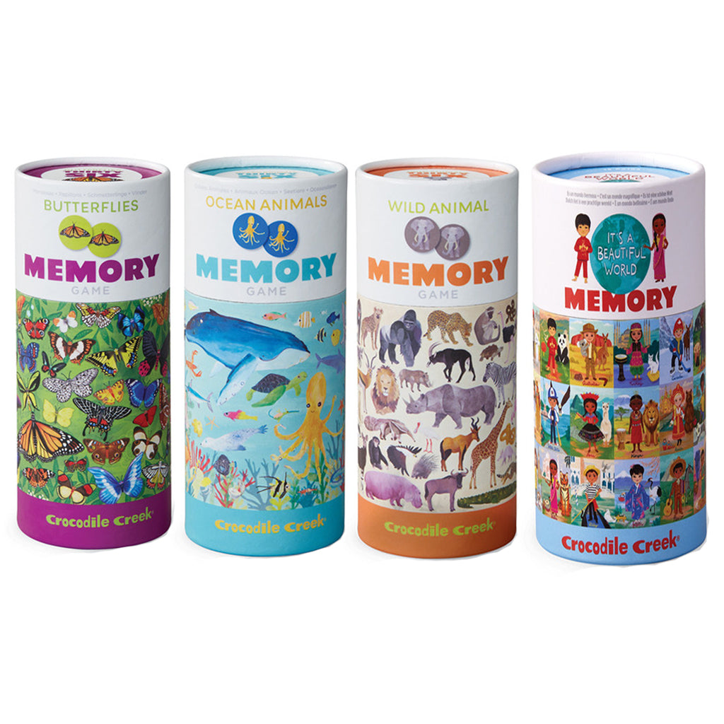 Crocodile Creek - Canister Memory Game