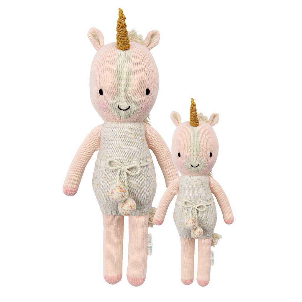 Cuddle + Kind - Ella the Unicorn - Handmade in Peru