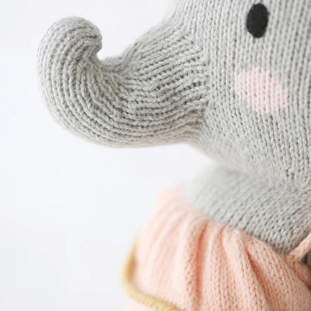 Cuddle + Kind - Eloise the Elephant - Made in Peru | Mapamundi Kids