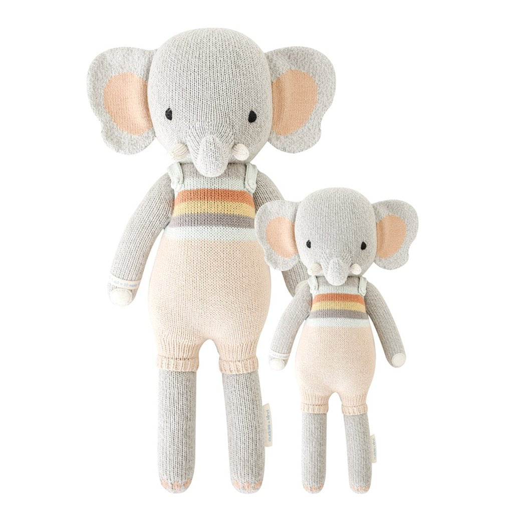 Cuddle + Kind - Evan the Elephant - Handmade in Peru