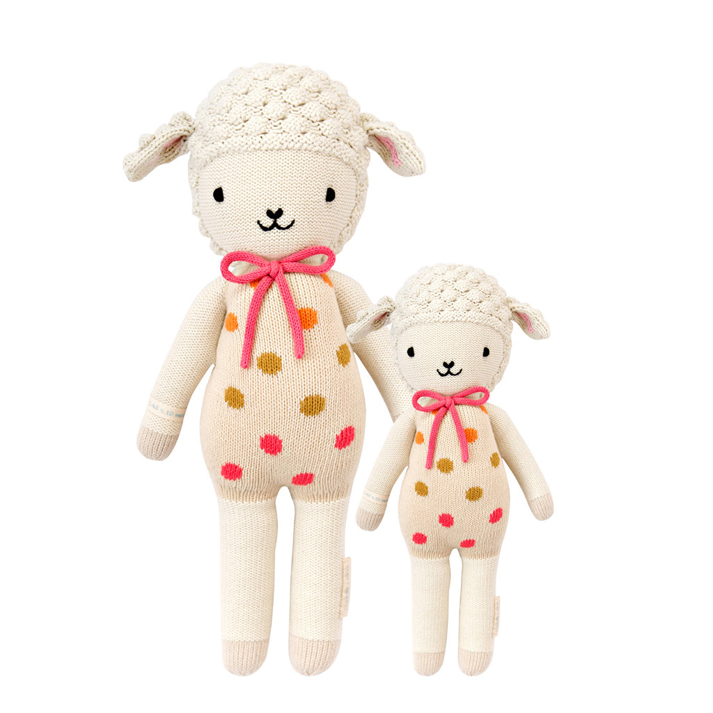 Cuddle + Kind - Lucy the Lamb - Handmade in Peru