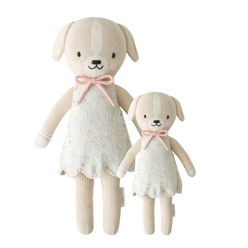 Cuddle + Kind - Mia the Dog - Handmade in Peru - 1 doll provides 10 meals to children