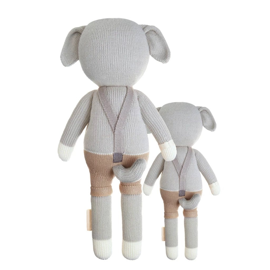 Cuddle + Kind - Noah the Dog - Made in Peru - 1 doll provides 10  meals to children