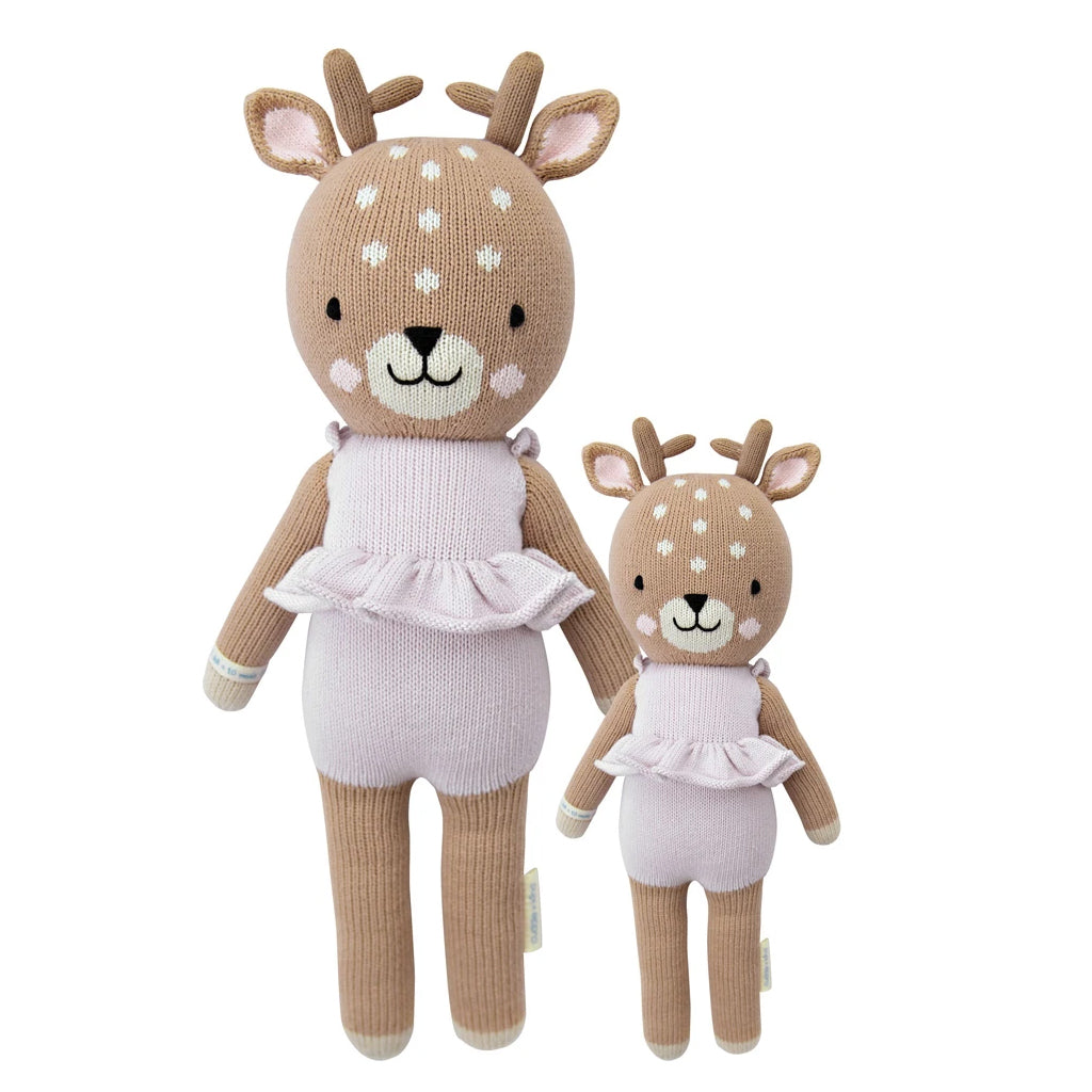 Cuddle + Kind - Violet the Fawn - Made in Peru | Mapamundi Kids