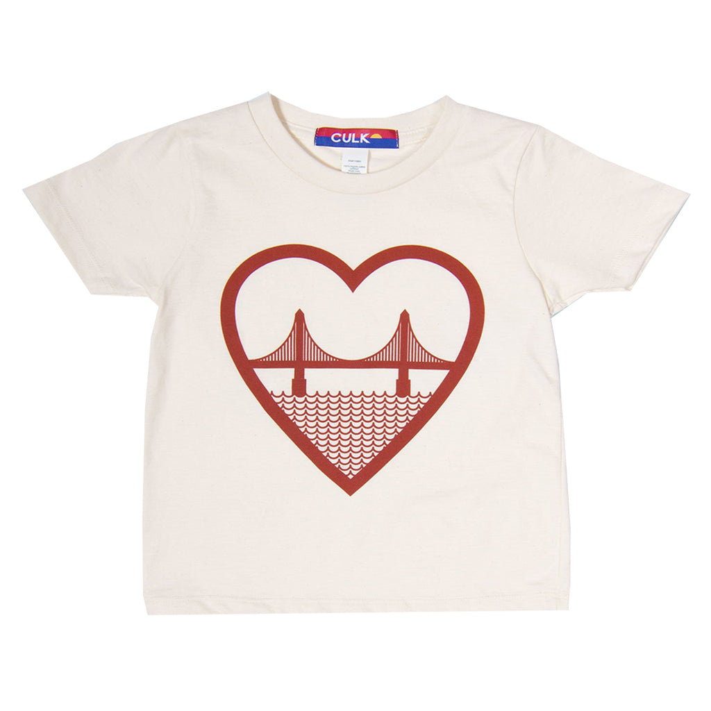 Culk - I Heart SF Tee - Made in San Francisco