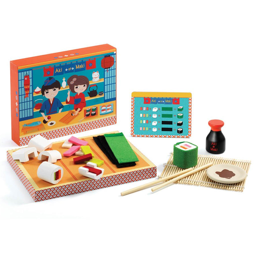 Djeco - Aki and Maki Sushi Set | Mapamundi Kids