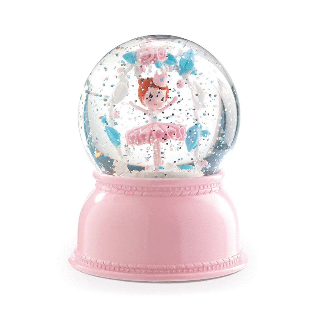 Djeco - Ballerina Night Light Snow Globe | Mapamundi Kids