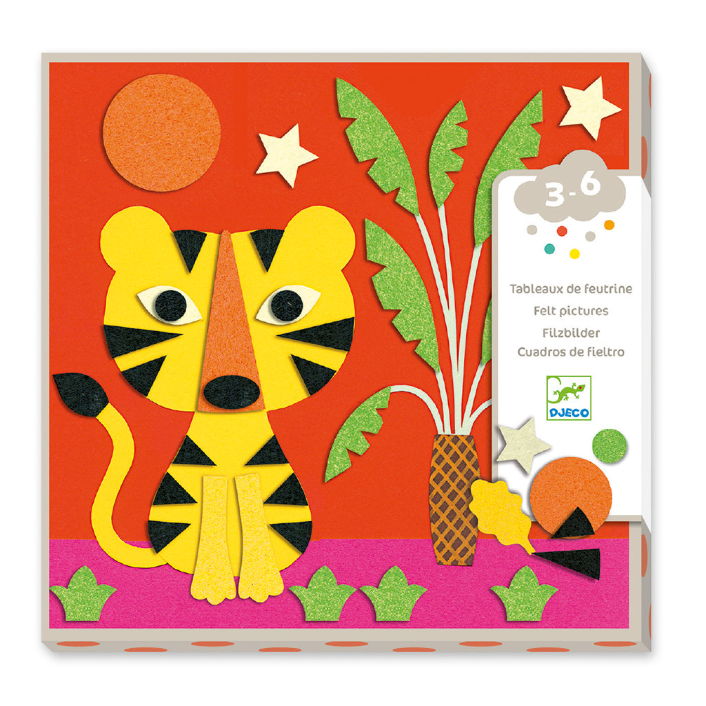 Djeco - Felt Collage Kit - Sweet Nature | Mapamundi Kids