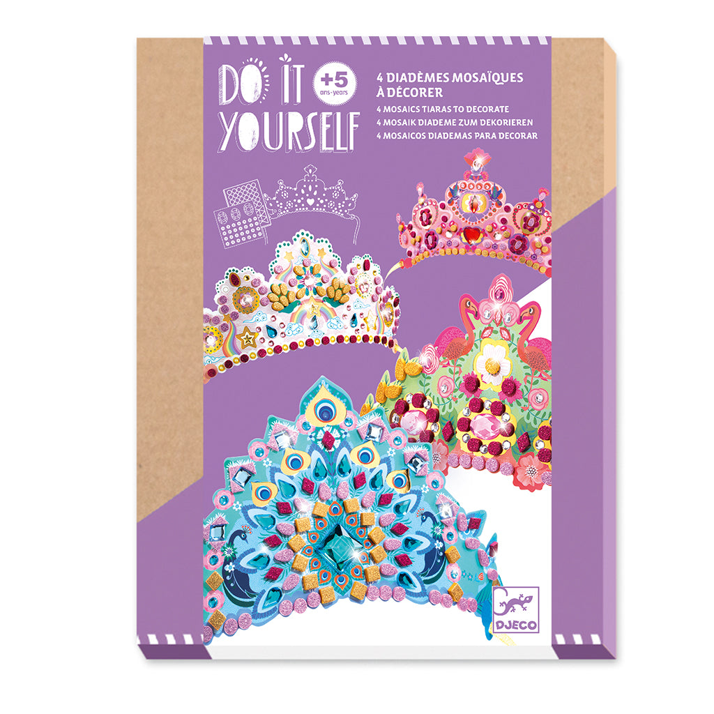 Djeco - DIY Princess Crown Kit | Mapamundi Kids