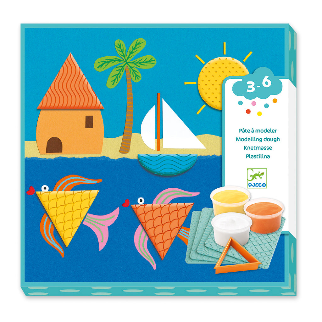 Djeco - Dough Kit - Prints and Shapes | Mapamundi Kids