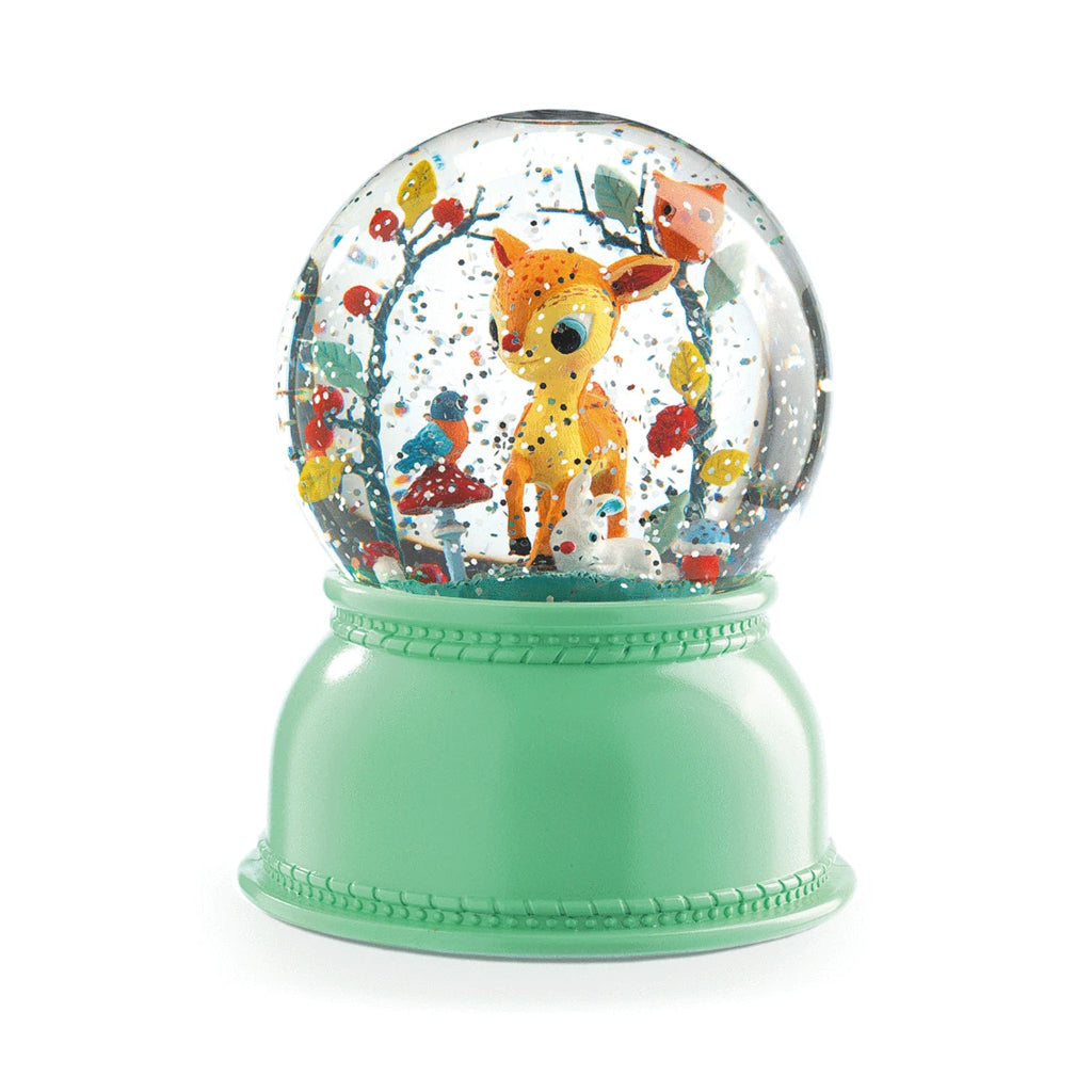Djeco - Fawn Night Light Snow Globe | Mapamundi Kids