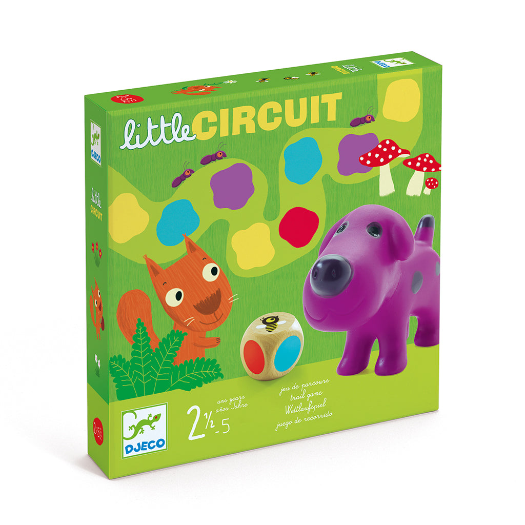 Djeco - Little Circuit Board Game | Mapamundi Kids