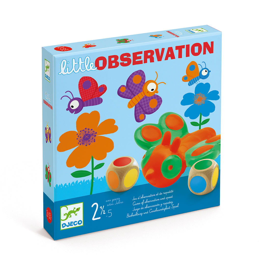 Djeco - Little Observation Board Game | Mapamundi Kids